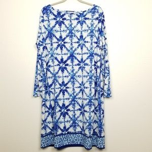 MICHAEL Michael Kors   shift dress   long sleeve